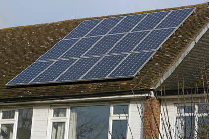 Grahame Close PV panels